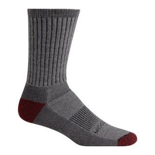 Woolrich Mens Ten Mile Hiker Crew Socks, GREY, M