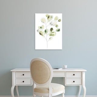 Easy Art Prints June Erica Vess's 'Sea Greens I' Premium Canvas Art