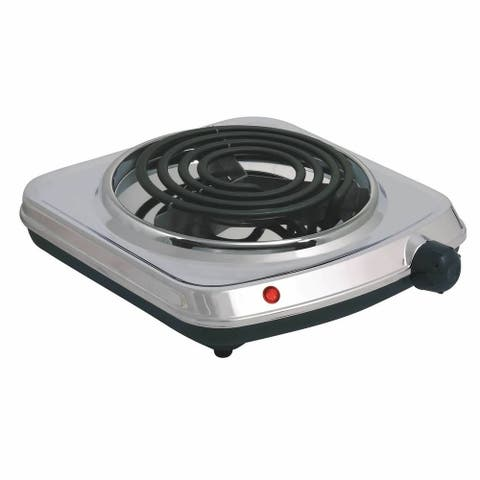 Stainless Steel 1000W Electric Single Burner