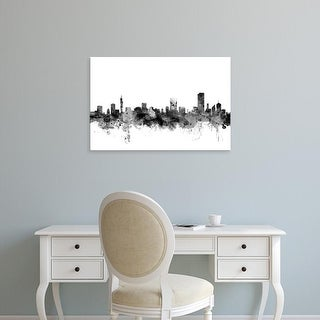 Easy Art Prints Michael Tompsett's 'Pretoria South Africa Skyline' Premium Canvas Art