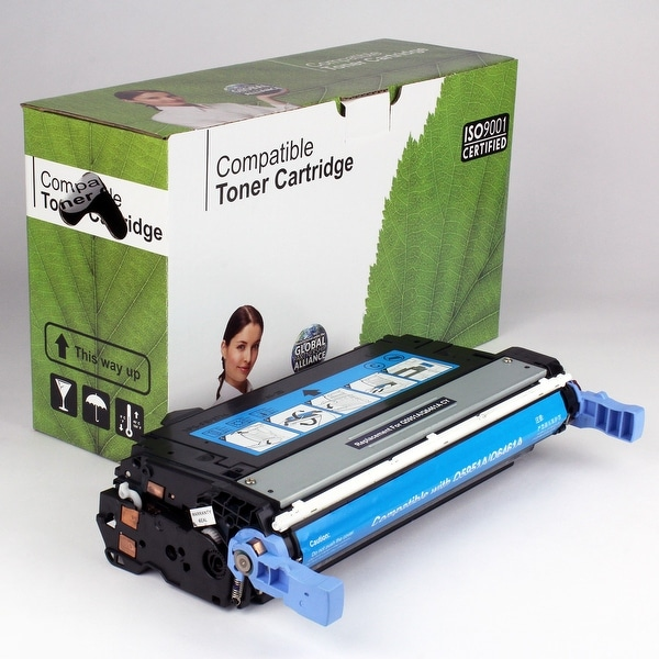 Value Brand replacement for HP 643A Cyan Toner Q5951A (10,000 Yield)