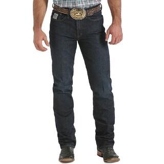 Cinch Western Denim Jeans Mens Silver Label Dark Wash MB98034002