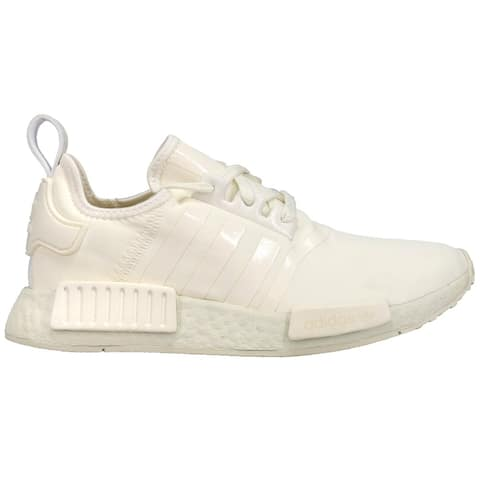 adidas Nmd_R1 Lace Up Womens Sneakers Shoes Casual - Off White