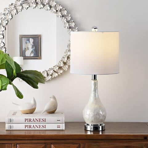 "SAFAVIEH Lighting 21.5-inch Isla Resin Table Lamp - 10"" W x 10"" L x 21.5"" H"