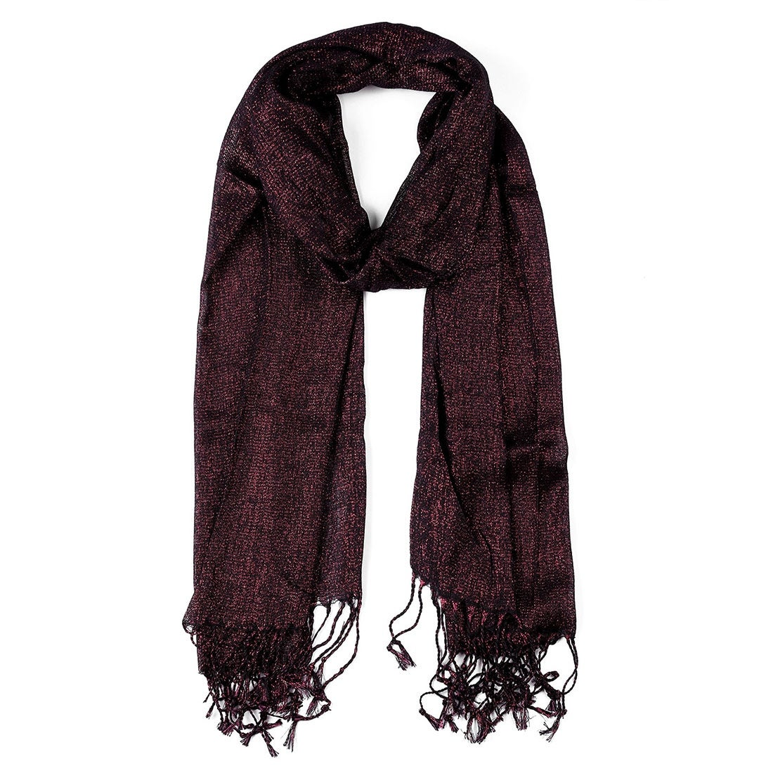 Latest Ladies Sparkling Scarf Floral Glitter Printed Soft Stylish Party Scarves