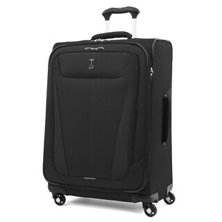 Travelpro Maxlite 5 - 25 Black Polyester Fabric Expandable Spinner w/ Honeycomb Frame System