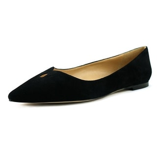 Sam Edelman Ruby Women  Pointed Toe Suede Black Flats