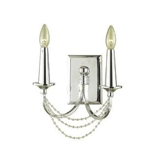 """AF Lighting 7703-2W Shelby 2 Light 11"""" Wide Wall Sconce"""