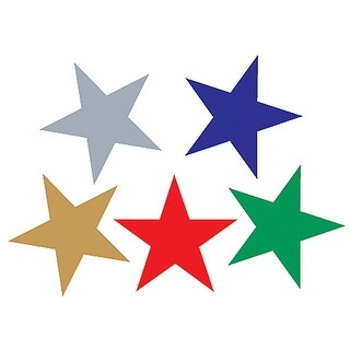 Foil Stickers Assorted Stars