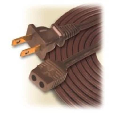 Coleman Cable 0295 Household Appliance Cord, Brown, 18/2 x 6'