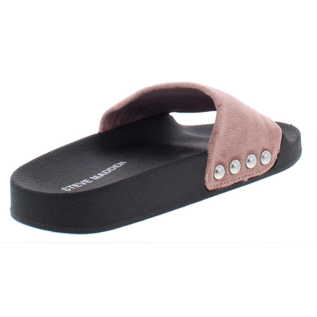 231ae6ffbda Steve Madden Womens Patches Slide Sandals