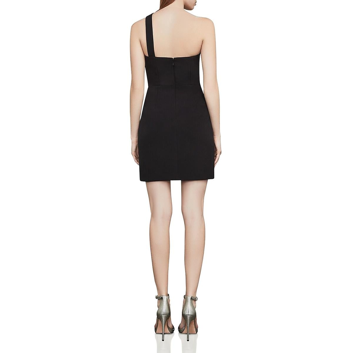 a3de1bd6bc5 Shop BCBG Max Azria Womens Party Dress Cut-Out One Shoulder - Free Shipping  Today - Overstock - 28079884
