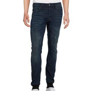 Rogue NEW Blue Mens Size Medium M Slim-Leg Rib Cuff Jogger Jeans