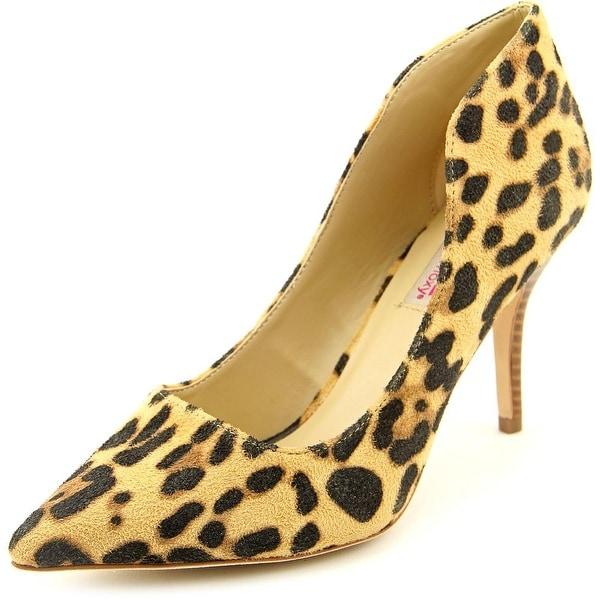 Dolce by Mojo Moxy Tammy Women Pointed Toe Canvas Heels