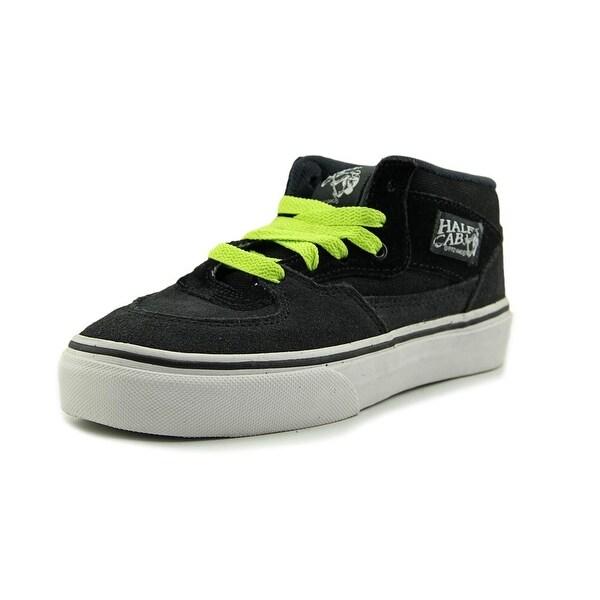 f46202bd37 Shop Vans Half Cab Youth Suede Black Fashion Sneakers - Free ...
