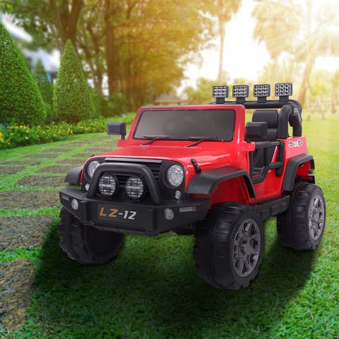 12V Kids Ride On Truck Car with Remote Control