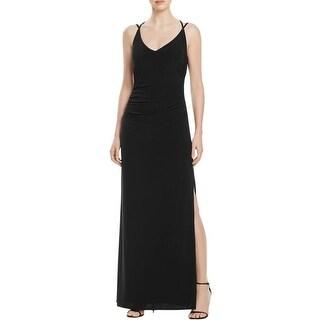 Laundry by Shelli Segal Womens Formal Dress Jersey Criss-Cross Back