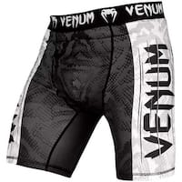 Venum Amazonia 5 Dry Tech Compression Vale Tudo Fight Shorts - Black