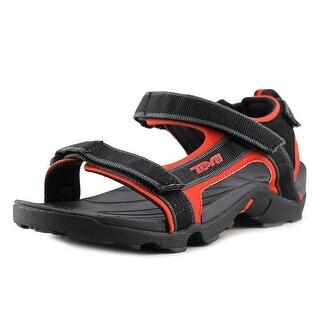 Teva Tanza Jr Open-Toe Canvas Sport Sandal