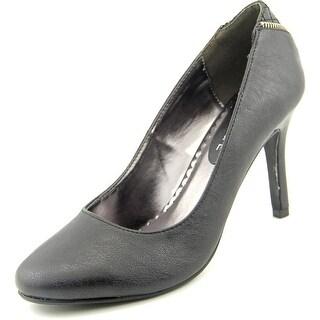Rampage Omare Women  Round Toe Synthetic Black Heels