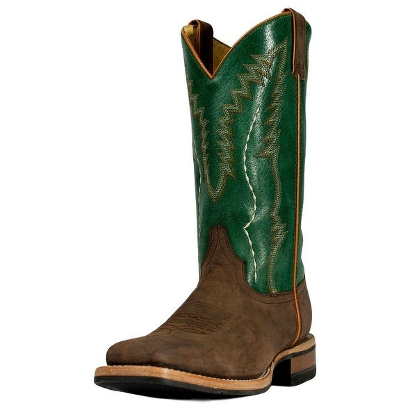 Cinch Western Boots Mens Horseman Piping EverSole Mad Dog Bone