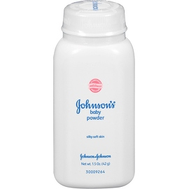 JOHNSON'S Baby Powder, Travel Size 1.50 oz
