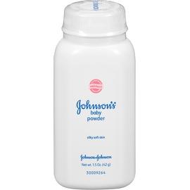 JOHNSON'S Baby Powder, Travel Size 1.50 oz