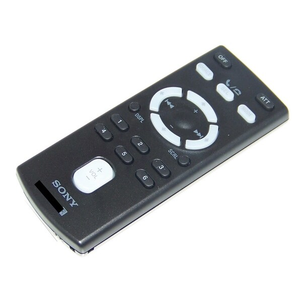 OEM Sony Remote Control Originally Shipped With: MEXBT38UW, MEX-BT38UW, MEXBT3800U, MEX-BT3800U, MEXBT3700U, MEX-BT3700U