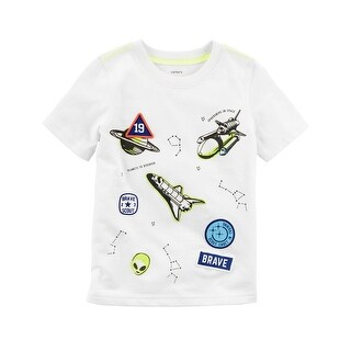 Carter's Baby Boys' Space Patch Jersey Tee