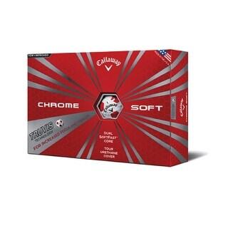 Callaway Chrome Soft Truvis Golf Balls - 64212531220