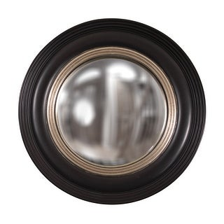 "Link to Delacora HE-51276 Soho 14"" Circular Porthole Style Accent Wall Mirror - Matte Black Similar Items in Mirrors"