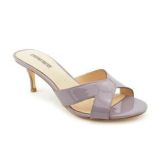 Charles David Nadira Women Open Toe Patent Leather Sandals