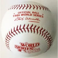 Rawlings Official 1986 World Series Baseball New York Mets vs Boston Red Sox