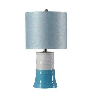 Kangaroo LP10-SB Ceramic Base Lamp - Sky Blue, Pack of 2