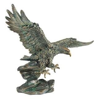 VICTORYS EAGLE DESIGN TOSCANO eagle american art bronze finish eagle
