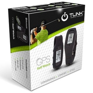 TLink Bluetooth GPS Rangefinder / Pedometer Watch, Manufacturer Refurb