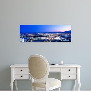 Easy Art Prints Panoramic Images's 'Las Vegas Strip, Nevada, USA' Premium Canvas Art