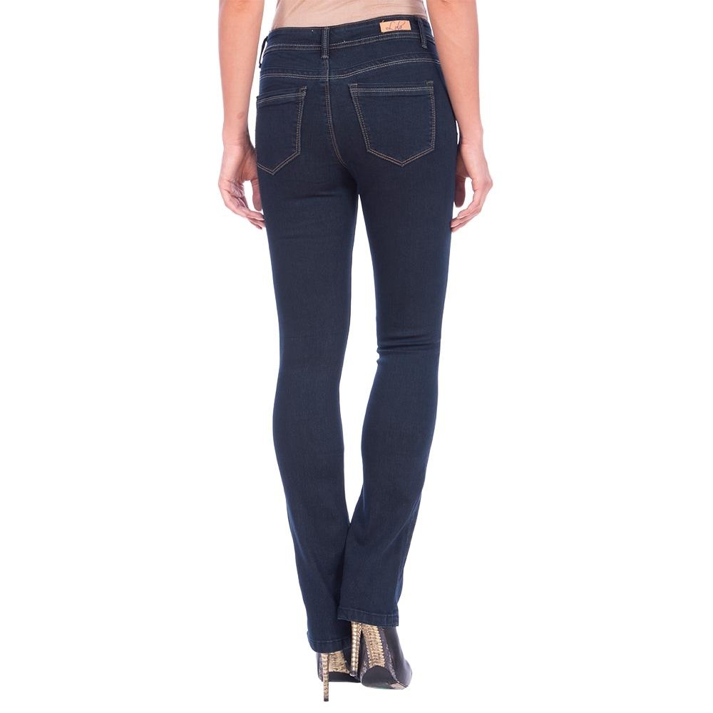 DISCONTINUED Lola Classic Bootcut Jeans, Lauren-RB - Thumbnail 1