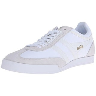 Gola Mens Super Harrier Suede Trim Lace-Up Fashion Sneakers - 11 medium (d)