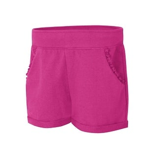 Hanes Girls' Ruffle Pocket Short - XL