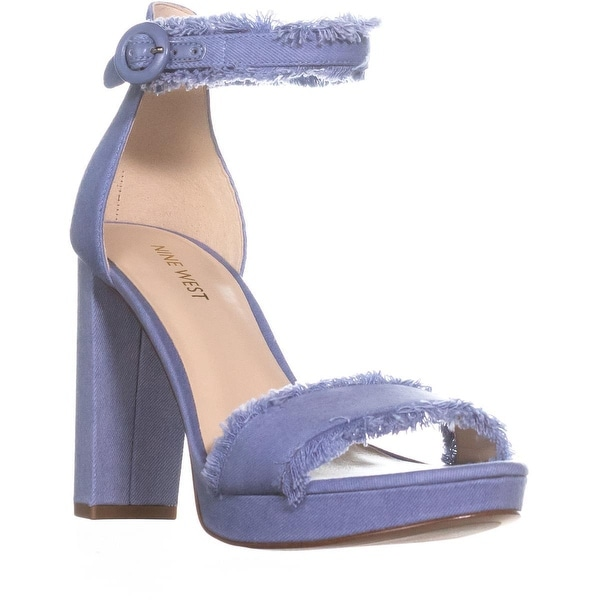 ae960330e691 Shop Nine West Daranita Denim Heeled Sandals