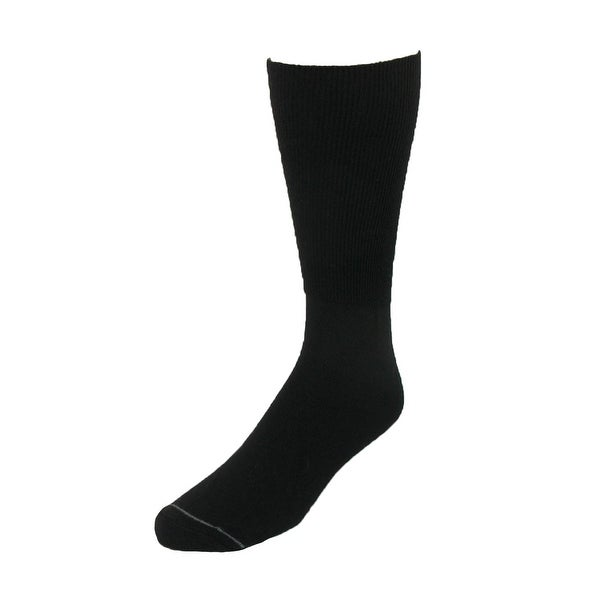 Extra Wide Sock Co. Men's Cotton Wide Dress Socks (Big & Tall Available)