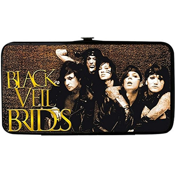 Buckle-Down Hinge Wallet - Black Veil Brides