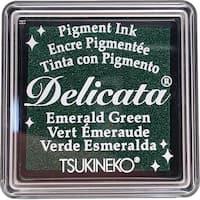 Delicata Small Pigment Inkpad-Emerald Green