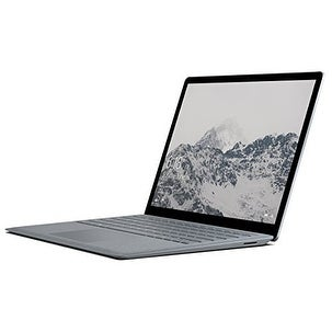 Microsoft Surface Laptop (Intel Core i7, 16GB RAM, 512GB) - Platinum and Logitech M510 Wireless Mouse, Black, 910-001822