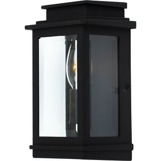 Artcraft Lighting AC8191BK Fremont 1 Light ADA Compliant Outdoor Wall Lantern