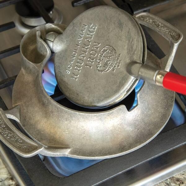 Nordic Ware Norwegian Krumkake Iron Fivе Расk
