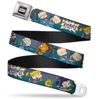 Rugrats Logo Rugrats Cookie Scene Webbing Seatbelt Belt Fashion Belt