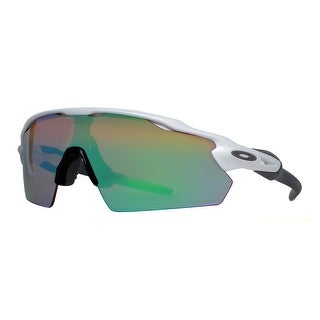 OAKLEY Shield RADAR EV PITCH Men's OO9211-05 White Green/Red Sunglasses - 38mm-1mm-136mm