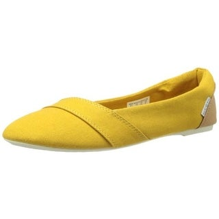 Keen Womens Cortana Canvas Round Toe Ballet Flats